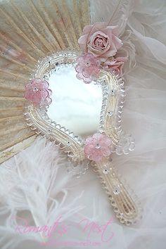 Venetian glass hand mirror #PintoWin #NapoleonPerdis #Cinderella @Liesel Sylwester Perdis