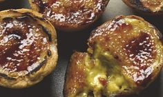 Yotam Ottolenghi's chai brûlée tarts: 'Based on the magnificent tarts made by Sydney's Bourke Street Bakery.' Photograph: Colin Campbell for the Guardian. Yotam Ottolenghi, Ottolenghi Recipes, Just Desserts, Dessert Recipes, Mousse, Biscuits, Custard Recipes, Paleo, Sweet Pie