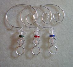 Handmade Christmas Tree Ornament with Ornament Hanger 800 via