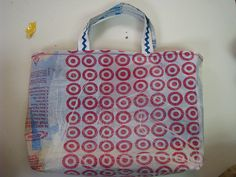 tote from fused plastic bags
