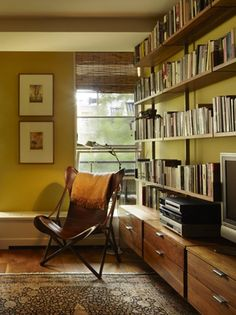 Study by Studio Geiger in West Village Apartment, Remodelista