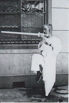 Cheng Man Ching sword tai chi chuan