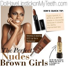 Great nude lip colors