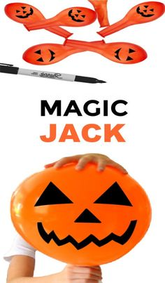 "Use science to ""magically"" form a jack-o-lantern! #halloween #halloweenscienceexperimentsforkids #balloonexperiment #magicjackolantern #growingajeweledrose #activitiesforkids Halloween Science, Fun Halloween Crafts, Halloween Activities For Kids, Educational Activities For Kids, Science For Kids, Toddler Activities, Mummy Crafts, Crafts To Do, Crafts For Kids"
