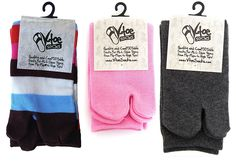 V-Toe Flip Flop Tabi Socks - 3 Pairs >>> Find out more about the great product at the image link.
