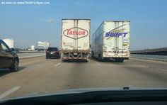 I just saw Taylor Swift on the road and took a photo! Here it is!