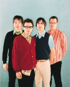 Weezer. Love them. Saw them twice