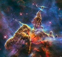 Breathtaking Carina Nebula PHOTO Marks Hubble Telescope's 20th Anniversary
