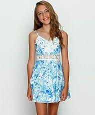 Kaiami Blue Hawaii Dress