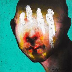 Barstool Philosophers: Joseph Loughborough's mysterious charcoal and pastel portraits Dark Artwork, Fantasy Artwork, Alberto Giacometti, Pastel Portraits, A Level Art, Small Art, Cool Paintings, Impressionist, Art Boards