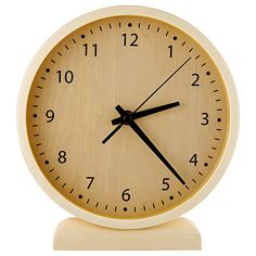 Colton Wood Mantle Clock | Target Australia