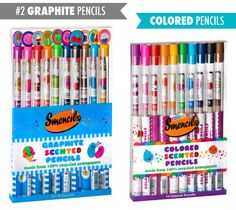 Smencils: Gourmet Scented Pencils