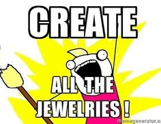 """Come to #craftsandcocktails and """"create all the jewelries""""!! April 30th 6:30pm! Come #makeyourmasterpiece #gift for her for #mothersday! $4000 all materials included. Enjoy #complimentary #cocktails. Bring a friend to #sipandshop. #handmade #jewelry on sale. Call 876-818-1688 for #reservations book now. #jamaica #madeinjamaica #smallbusiness #jamaicanartists #create by craftsandcocktailsjm"""