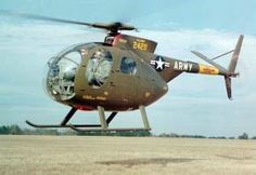 History of the OH-6 Cayuse Helicopter | US Military Helicopters