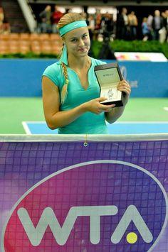 Anna Karolína Schmiedlová - víťazka turnaja WTA Katowice Open