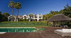 Sotogrande Villa on large plot Costa del Sol University Of North Carolina, Chapel Hill, Coastal, Villa, Home And Garden, Real Estate, Mansions, World, House Styles