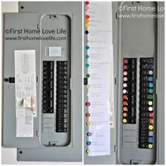 Color Coding Your Circuit Breaker Box – Household Tip - The Homestead Survival - Homesteading Household DIY Project