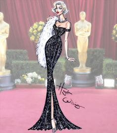 "haydenwilliamsillustrations: ""Golden Age Glamour by Hayden Williams: Marilyn Monroe """