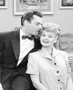 """As producer of """"I Love Lucy"""" Desi Arnaz was responsible for transforming Lucy from former movie star/glamour girl to comic genius and the Queen of Television."""