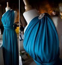 peacock blue twobirds bridesmaid multiway, convertible bridesmaids dresses