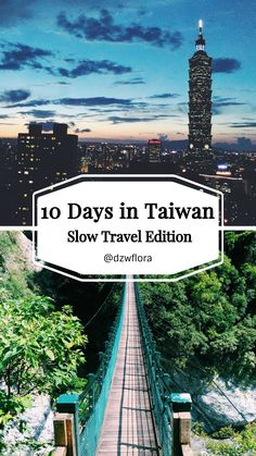 10 Days in Taiwan: Slow Travel Edition Wild & Nerdy Taipei Travel, Asia Travel, Taiwan Itinerary, Travel Destinations Beach, Backpacking Asia, Slow Travel, Travel Goals, Travel Couple, Travel Inspiration