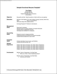 job resume format examples resumes pinterest resume format resume examples and sample resume format - Best Resumes Format