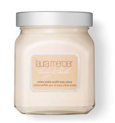 A silky, smooth crème that luxuriously nourishes the skin with the lightly whipped feel and unique essence of warm caramel, spun sugar and French vanilla bean.
