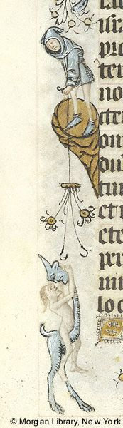 Book of Hours, MS M.854 fol. 186v - Images from Medieval and Renaissance Manuscripts - The Morgan Library & Museum