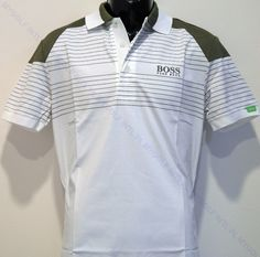 HUGO BOSS PADDY MARTIN KAYMER EDITION POLO (Price: S$499 - 40% OFF)  Connect with us at www.facebook.com/mygolf.com.sg Golfers, Hugo Boss, The Man, Connect, Polo Shirt, Facebook, Mens Tops, Shirts, Fashion