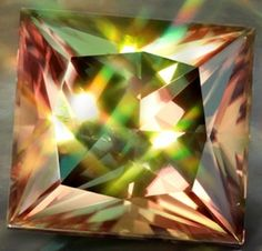 We're going gaga for ZULTANITE this week. A beautiful and rare natural colour changing gemstone from Turkey and Russia.    The zultanite gemstone displays light green colors under natural light, while displaying pinkish colors under candlelight.