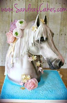 Derby Themed Bridal Shower Cake