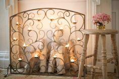 Tea Light Fireplace