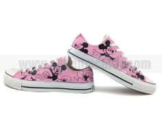 Mickey mouse pink shoes for adult