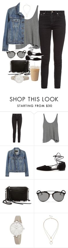 """""""Untitled #3887"""" by olivia-mr ❤ liked on Polyvore featuring Yves Saint Laurent, T By Alexander Wang, Proenza Schouler, Stuart Weitzman, Rebecca Minkoff, Christian Dior, Kate Spade and Sole Society"""