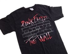 Pink Floyd The Wall Black Graphic TShirt  Small by StreetDeco