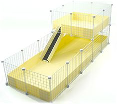 Best Deluxe Guinea Pig Cage Cool site that sells gp cages.  Neat ideas