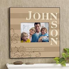 Family Memories 5x7 Wall Picture Frame