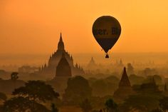 Bagan, Myanmar, Asia    How can I get there? OMG