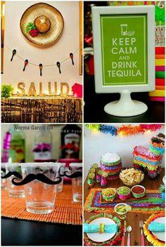 Decoración para fiestas mexicana.  Si señor!