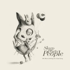 SLEEP PARTY PEOPLE'S NEW ALBUM COVER by Roby Dwi Antono, via Behance