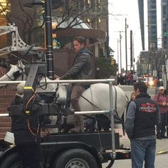 Sean on the White horse - 4 * 17 - Behind the scenes - 28 January 2015