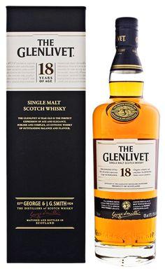 The Glenlivet Malt Whisky online kopen in Nederland en Belgie Cigars And Whiskey, Whiskey Bottle, The Distillers, Single Malt Whisky, Cocktails, Drinks, Scotch Whisky, Label Design, Man Cave