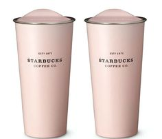 Stainless Steel To Go Tumbler Pink 2EA 473 ml/16 fl oz (Germany import directly) #Starbucks