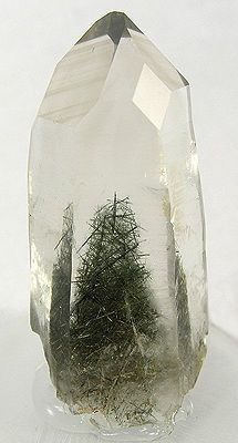 quartz with actinolite inclusions | OBJECtify