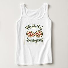 Pizza Infinity Custom Tank Top