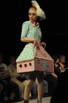 dollhouse on the catwalk