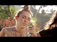 "▶ Miley Cyrus - The Backyard Sessions - ""Look What They've Done To My Song"" - YouTube"
