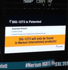 Our new patented molecule SIG-1273 actually blocks the CAUSE of aging!!! ~Blocks inflammation ~Protects against collagen breakdown ~Reduces oxidative stress ~Boosts skin repair mechanisms  {ONLY AVAILABLE IN NERIUM PRODUCTS} #nerium #GR15