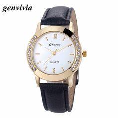 2.14$  Buy here - Genvivia Watch Women Relogio Feminino Quartz Watch Montre Femme Relojes Mujer Women Watches Reloj Pulsera Bracelet Watches   #shopstyle