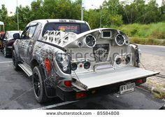 Car Bass Systems | - SEPTEMBER 24 : Car Audio Show systems Installation extreme bass ...
